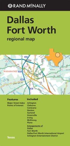 9780528009150: Folded Map Dallas/Fort Worth Reg TX