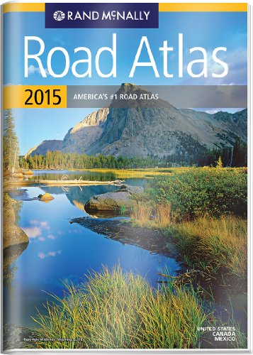 9780528011467: Rand McNally Road Atlas 2015 United States, Canada, Mexico