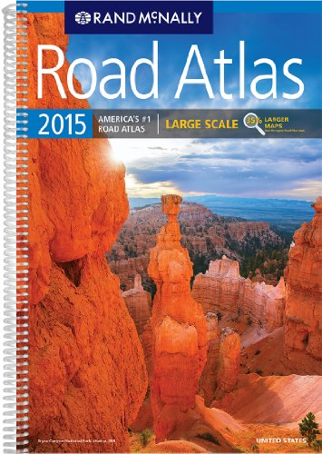 9780528011498: 2015 Large Scale Road Atlas USA (Rand Mcnally Large Scale Road Atlas USA)