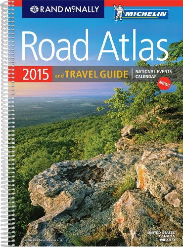 9780528011535: 2015 Road Atlas & Travel Guide (Rand Mcnally Road Atlas and Travel Guide)