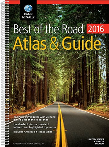 9780528013119: Rand Mcnally 2016 Best of the Road Atlas & Guide