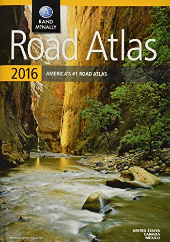 9780528013133: Rand McNally 2016 Road Atlas United States, Canada, Mexico (Rand Mcnally Road Atlas: United States, Canada, Mexico)