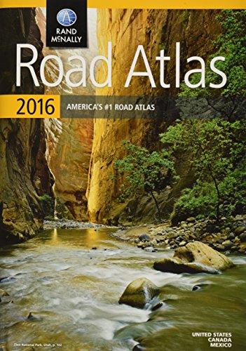 9780528013133: Rand McNally 2016 Road Atlas United States, Canada, Mexico
