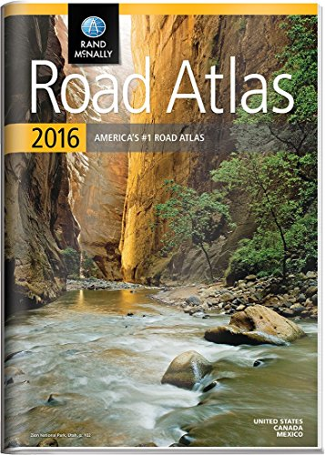 9780528013164: Rand McNally Gift Road Atlas (Rand Mcnally Road Atlas United States/ Canada/Mexico (Gift Edition))