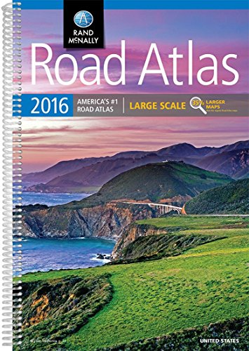 9780528013171: Road Atlas Large Scale (Rand Mcnally Large Scale Road Atlas USA)