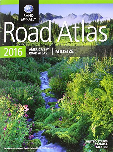 9780528013188: Rand McNally 2016 Midsize Road Atlas (Rand Mcnally Road Atlas Midsize)