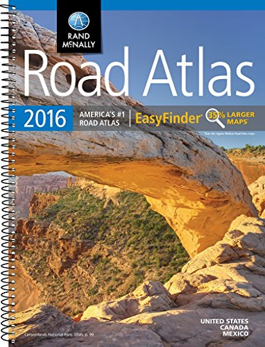 9780528013201: Rand McNally 2016 Road Atlas EasyFinder