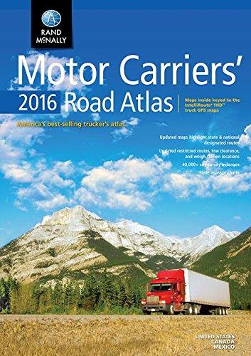 9780528013218: Rand Mcnally 2016 Motor Carriers' Road Atlas (Rand Mcnally Motor Carriers' Road Atlas)