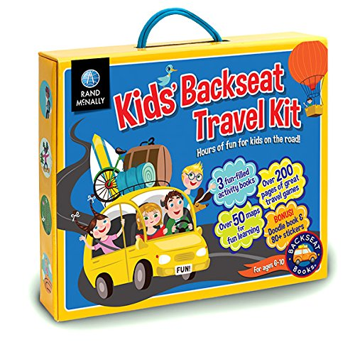 Kids' Backseat Travel Kit: Rand McNally