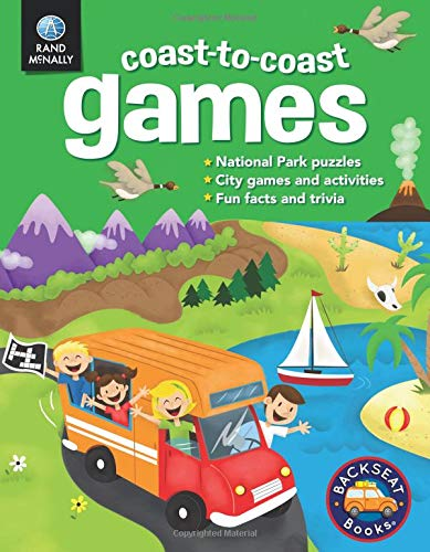 9780528013423: Coast-to-Coast Games (Backseat Books)