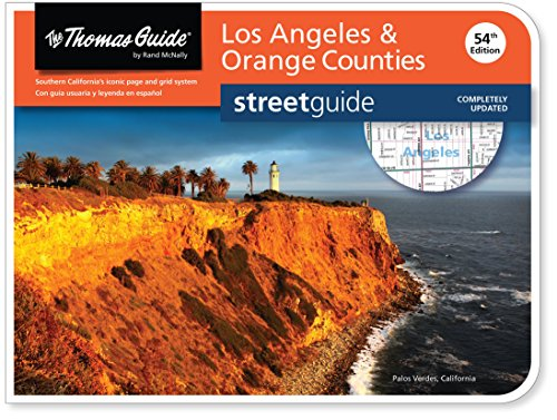 Thomas Guide: Los Angeles & Orange Counties (Thomas Guide Streetguide Los Angeles and Orange ...