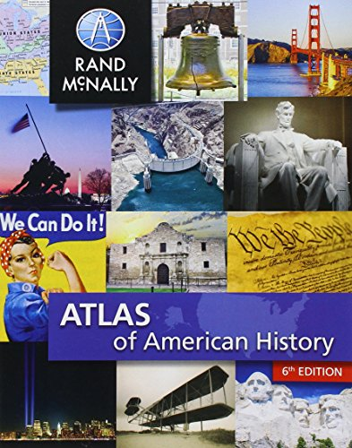 9780528015342: Atlas of American History
