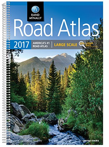 9780528015519: Rand McNally 2017 Road Atlas: Large Scale (Rand Mcnally Large Scale Road Atlas USA)
