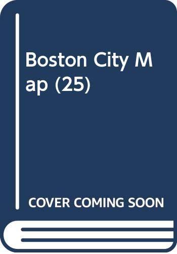 9780528242052: Boston City Map (25)