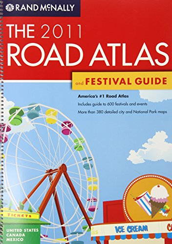 9780528355332: The Road Atlas and Festival Guide (Rand McNally Road Atlas & Festival Guide)