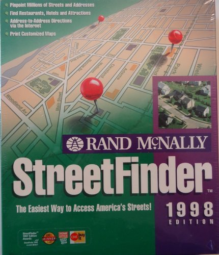9780528520761: Streetfinder (Rand McNally Streetfinder)
