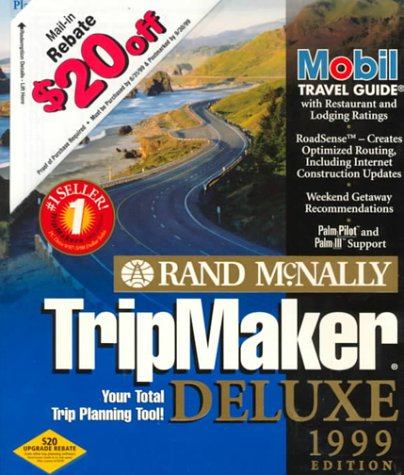 9780528521003: Rand McNally Tripmaker Deluxe 1999
