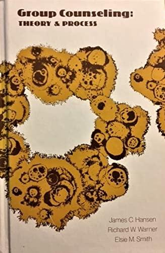 9780528610011: Group Counselling: Theory & Process