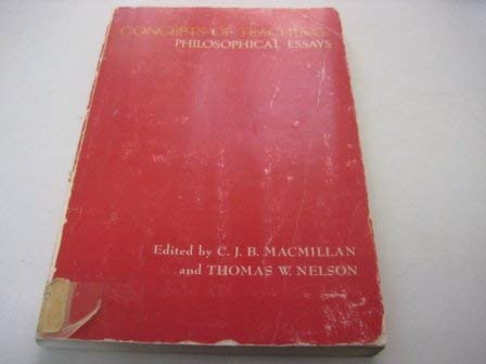 Concepts of Teaching: Philosophical Essays: C J B and Nelson MacMillan