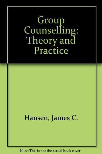 9780528612664: Group Counselling (Rand McNally Education Series)