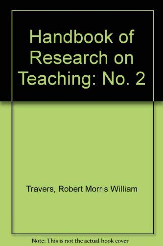 9780528618246: Second Handbook of Research on Teaching
