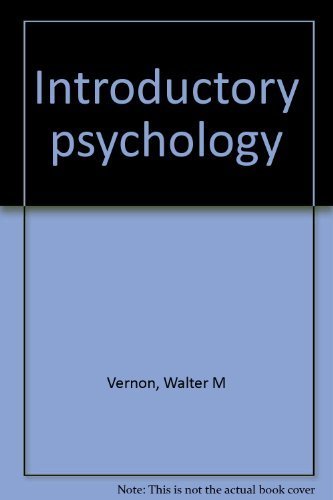 9780528620713: Introductory psychology