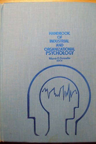 9780528629129: Handbook of Industrial and Organizational Psychology