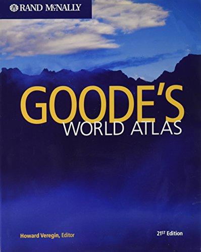 9780528650000: Goode's World Atlas