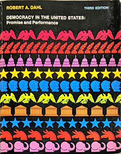 9780528650109: Democracy in the United States: Promise and Performance (Rand McNally political science series)