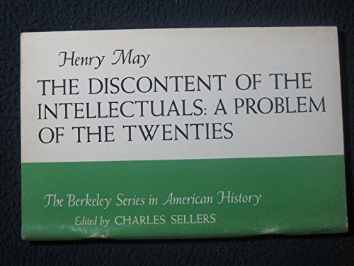 9780528665325: The Discontent of the Intellectuals: A Problem of the Twenties.