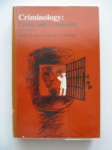 Criminology: Martin R Haskell;