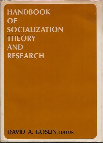 9780528686801: Handbook of Socialization Theory and Research