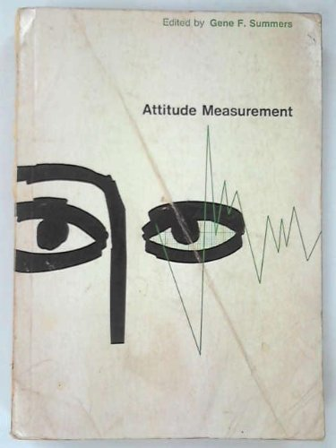9780528687105: Attitude Measurement
