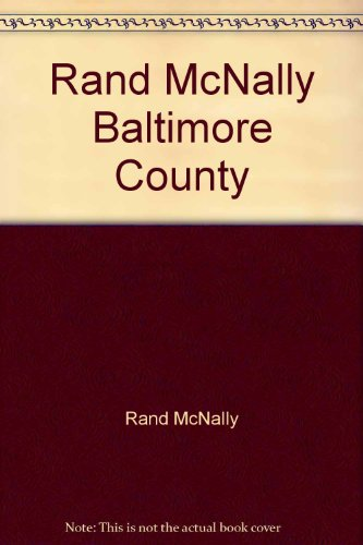 9780528750038: Rand McNally Baltimore County