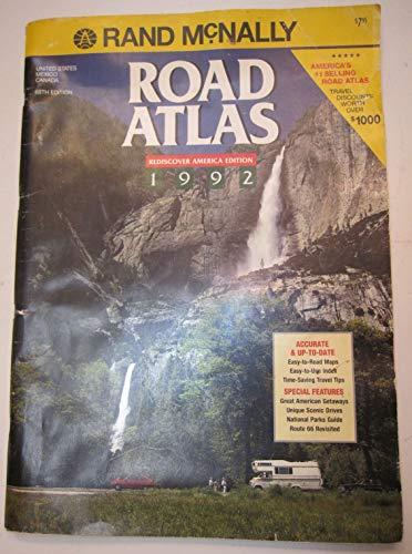 9780528810008: Rand Mcnally Road Atlas 1992