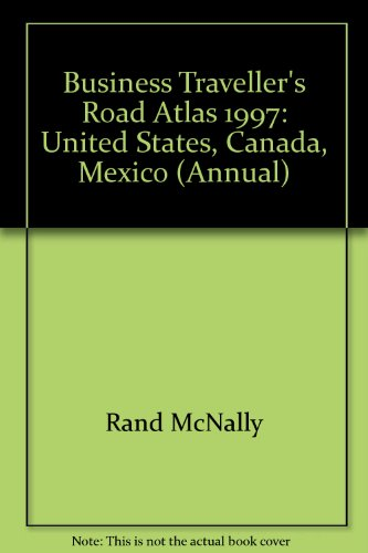 9780528815232: Business Traveller's Road Atlas: And Trip Planner (Annual)