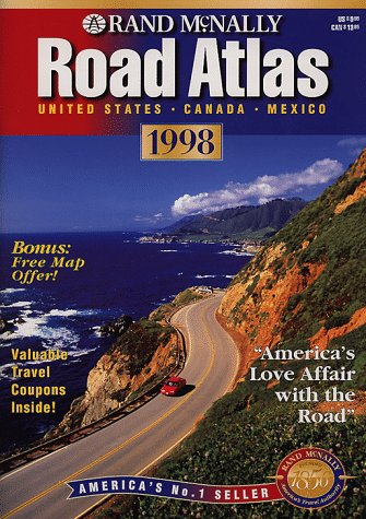 9780528815874: Rand McNally Road Atlas 1998: United States, Canada, Mexico