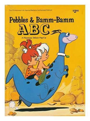 Pebbles and Bamm Bamm ABC (0528820656) by Hanna