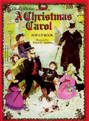 Christmas Carol by Charles Dickens, Red, First Edition - AbeBooks