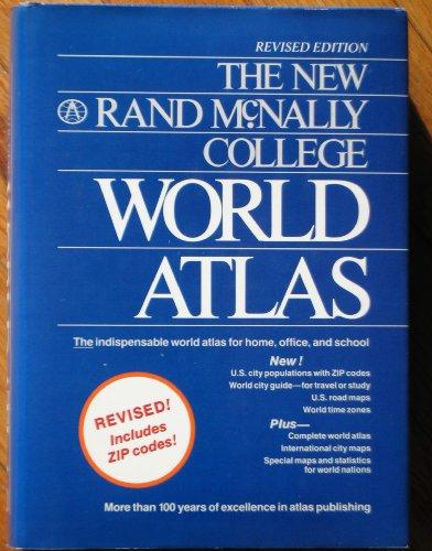 9780528831874: The new Rand McNally college world atlas