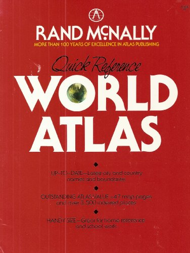 9780528832260: Quick Reference World Atlas