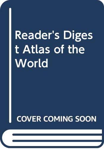 9780528835681: Reader's Digest Atlas of the World