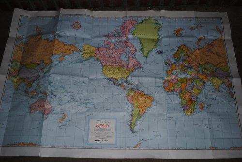 9780528836312: Rand McNally World Cosmopolitan Series Wall Map (Cosmopolitan Map)