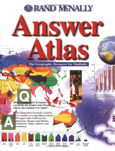 9780528838729: Rand McNally Answer Atlas: The Geography Resource for Students