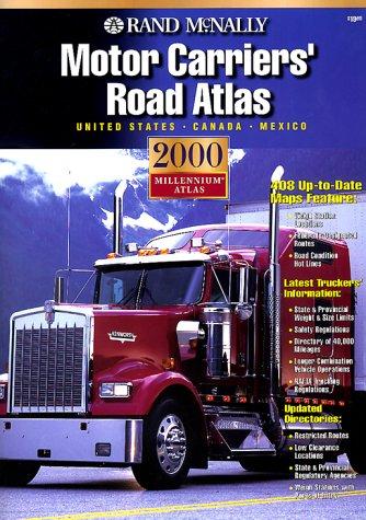 9780528841293: Rand McNally 2000 Motor Carriers Road Atlas (Rand Mcnally Motor Carriers' Road Atlas)