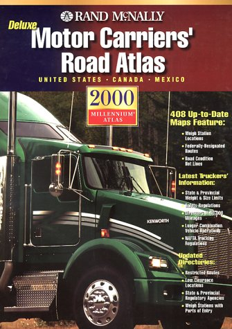 Rand McNally 2000 Motor Carriers Road Atlas: United States, Canada, Mexico (Rand Mcnally Deluxe ...