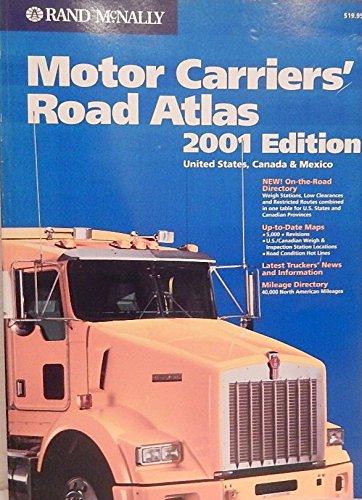Rand McNally 2001 Motor Carriers' Road Atlas: Rand McNally