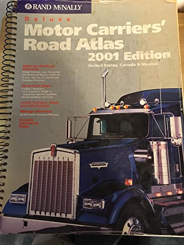 Rand McNally 2001 Deluxe Motor Carriers' Road Atlas: United States, Canada & Mexico (Rand ...