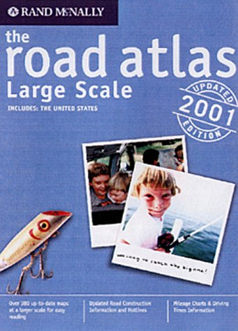 9780528843105: Rand McNally the Road Atlas: Large Scale : United States 2001 (Rand Mcnally Large Scale Road Atlas USA)