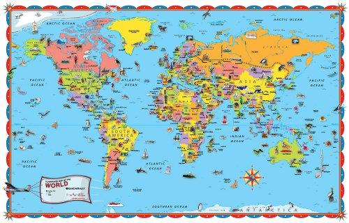 9780528852619: Rand McNally World Map